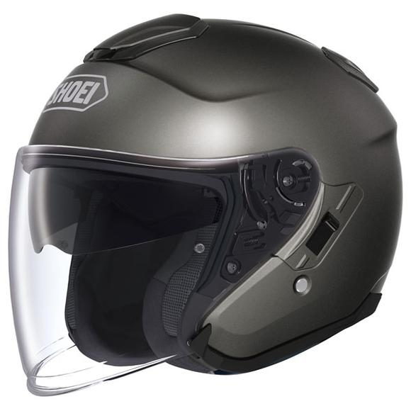 Shoei J-Cruise Anthracite Metallic Open Face Helmet