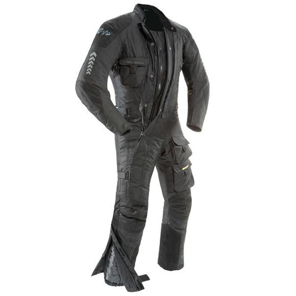 Joe Rocket 'Survivor' Mens Black Textile Riding Suit