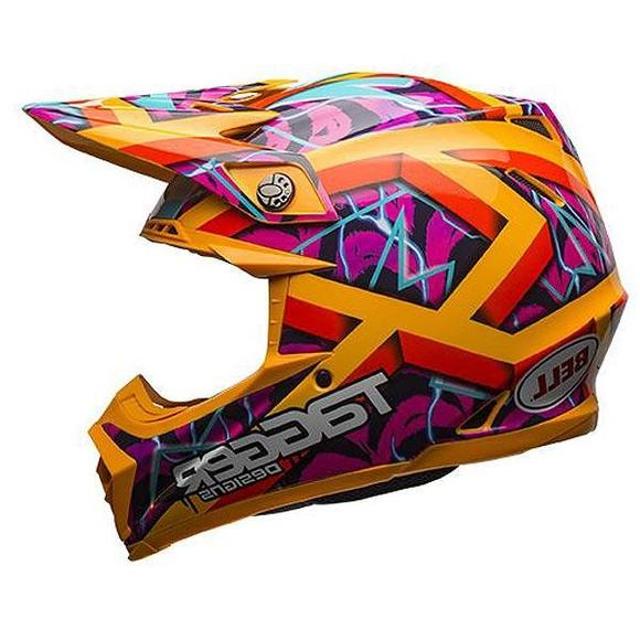 Bell Moto-9 Tagger Orange Motocross Helmet