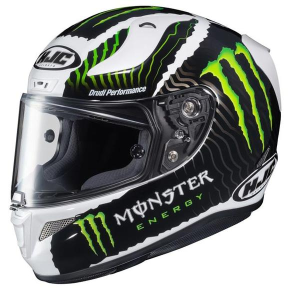 HJC RPHA-11 Pro Monster Energy White Sand Full Face Helmet
