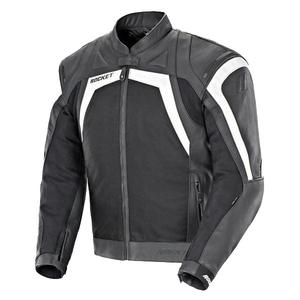 Joe Rocket Meta-X Men's Black/White Leather/Textile Jacket